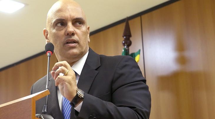 Ministro da Justiça, Alexandre de Moraes, fala sobre a operação policial