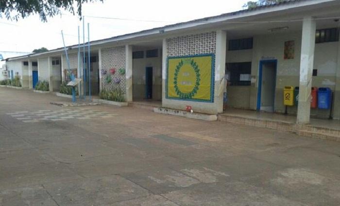 Escola Estadual Osvaldo Franco, na manhã desta quinta-feira