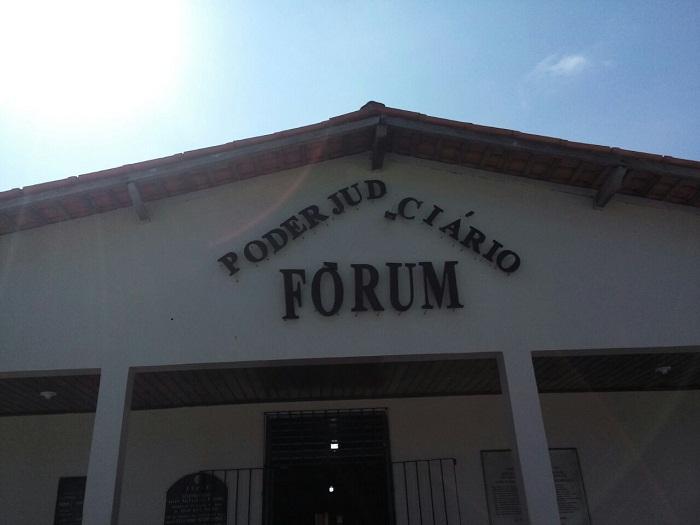 Fórum onde aconteceu audiência na manhã desta quarta-feira.