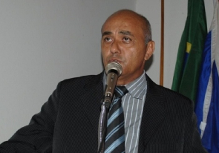 Candidato a vice-prefeito, Carlindo Ayres (PV)