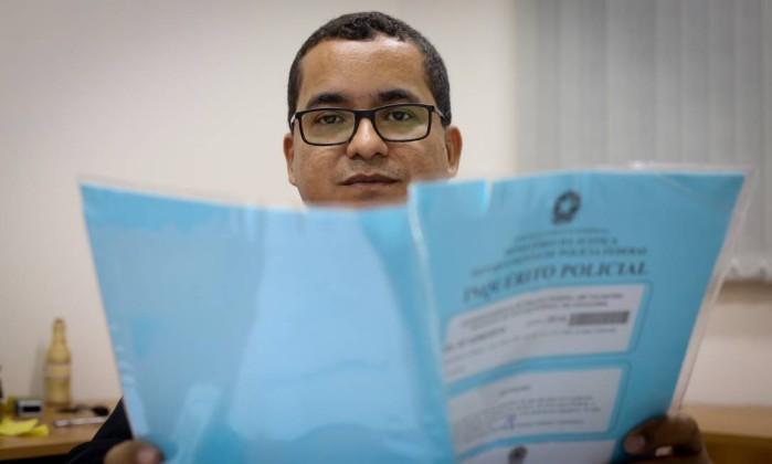 O promotor Paulo Sergio, de Augustinópolis, investiga crimes eleitorais no estado