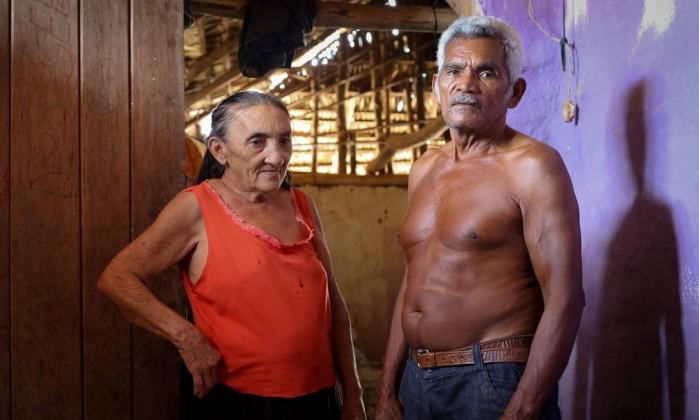 A conta de água de José Vieira e dona Deusamar chega a R$ 50
