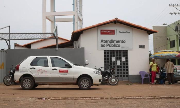 Braço da Odebrecht Ambiental, Saneatins faturou meio bilhão de reais em 2015