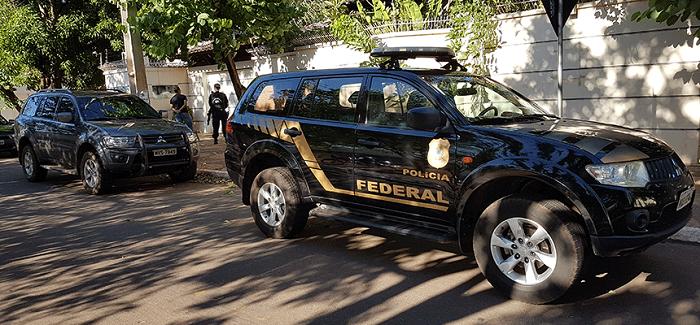 Viataura da PF faz operação na residência do ex-governador Siqueira Campos nessa quinta