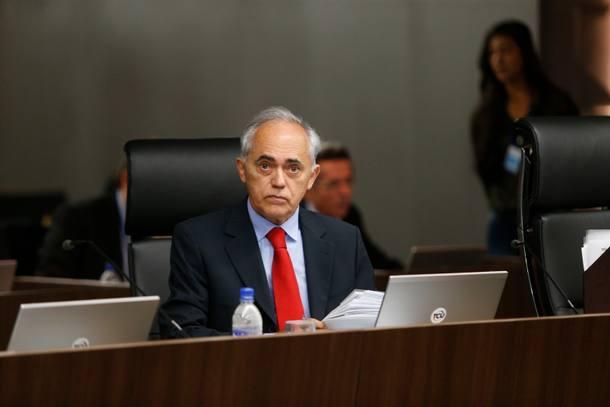 O ministro do TCU Raimundo Carreiro