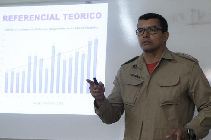 Capitão Soares autor da pesquisa