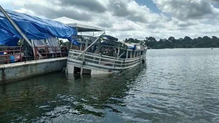 Barco que naufragou no PA fazia transporte clandestino