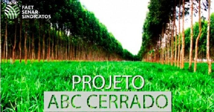 Resultado de imagem para Governo e entidades apresentam resultados finais do ABC Cerrado