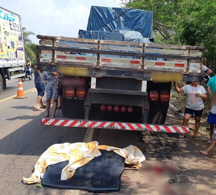 IMPERATRIZ: Colisão entre moto e caminhão mata menina de 11 anos - Folha do Bico